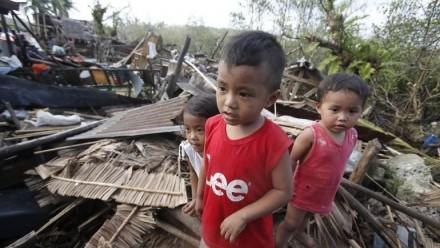 Photo of Phillipines post Typhoon