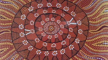 Reconciliation Painting 4 by Tjanara Goreng Goreng