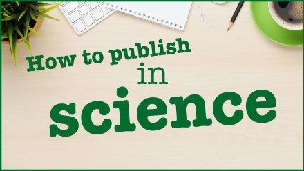 How to publish in science