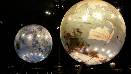 The globes of Louis XIV
