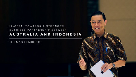 Thomas Lembong, Chairman of the Indonesia Investment Coordinating Board, and former Minister of Trade of Indonesia.