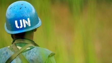 UN Blue helmet