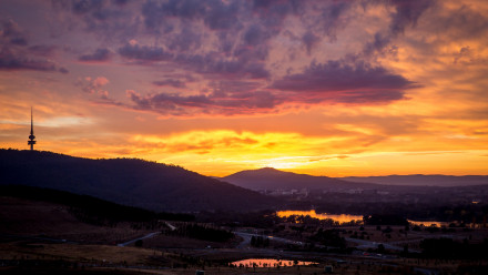 Image: Canberra Dawn, Matt Roberts, Creative Commons Licence