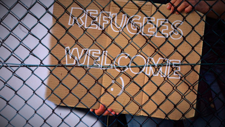 fence-refugees welcome_Image by kalhh from Pixabay.jpg