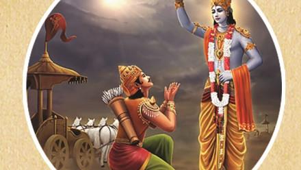 Krishna instructs Partha on Brahman