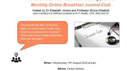 Monthly Online Breakfast Journal Club