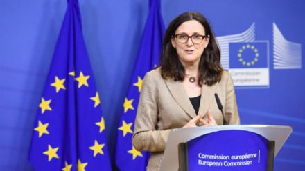 Photo of Dr Cecilia Malmström, European Commissioner for Trade