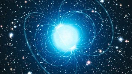 Artist's impression of a neutron star.