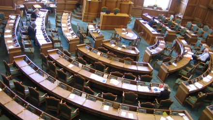 Photo of parliament seating