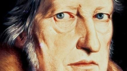 Portrait of Hegel