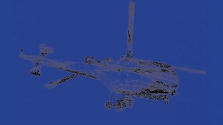 Flying Machine, Zhang Peili, 1994