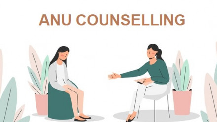 ANU Counselling - A student seeking help by meeting with their counsellor