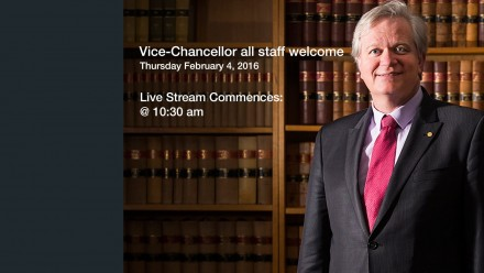ANU Vice-Chancellor all staff address