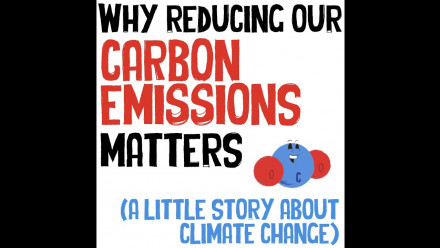 Why reducing our carbon emissions matters (a little story about climate change)