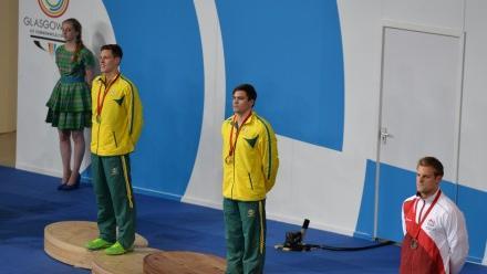 Gold medal winner Benjamin Treffers