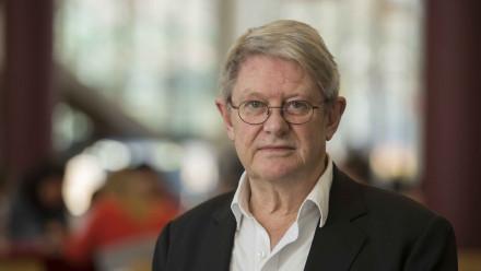 Professor Bruce Chapman. Image: Stuart Hay, ANU.