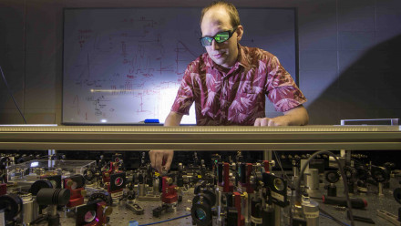 Dr Francis Bennet from the ANU Research School of Astronomy and Astrophysics. Image: Lannon Harley, ANU