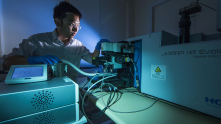 Dr Hieu Nguyen, ANU Research School of Electrical, Energy and Materials Engineering