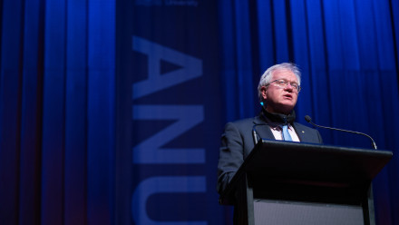 ANU Vice-Chancellor Professor Brian Schmidt. Photo: Lannon Harley/ANU