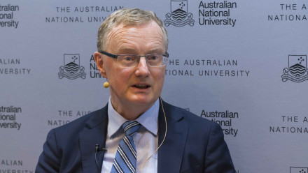 Governor of the Reserve Bank of Australia Phillip Lowe. Image: ANU.