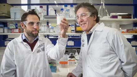 Dr David Thorn and Professor John Carver