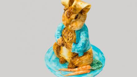 OVERALL WINNER - Peter Rabbit lemon cake