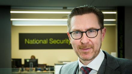 Professor Rory Medcalf. Image Stuart Hay, ANU