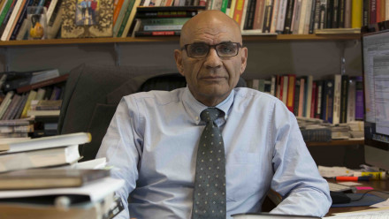 Professor Amin Saikal. Image: Stuart Hay, ANU