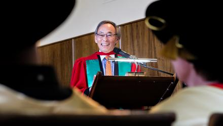 Professor Steven Chu, former US energy secretary. Image: Stuart Hay.