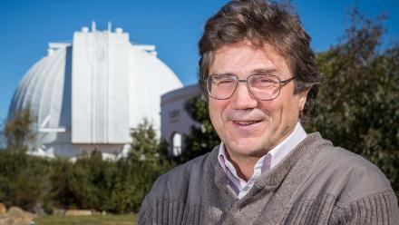 Associate Professor Charley Lineweaver. Image: Stuart Hay, ANU.