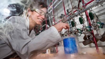 Dr Rachel Wood, Research School of Earth Sciences. Image: Stuart Hay, ANU