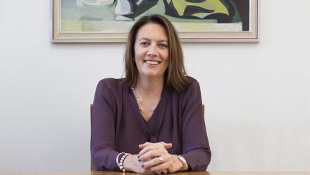 Pro-Chancellor Naomi Flutter. Photo by Stuart Hay, ANU.