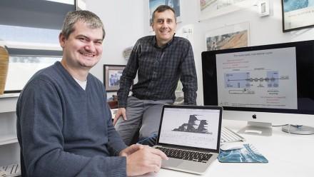 Dr Nikolay Shirokikh and Professor Thomas Preiss. Image: Stuart Hay, ANU.