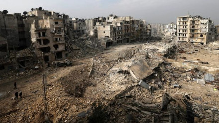 Aleppo is one of many Syrian battlegrounds in a conflict involving many nations. Image: Hassan Ammar