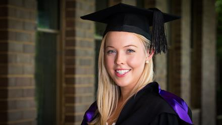 Alice Bradshaw has graduated with a Bachelor of Commerce and Bachelor Laws with First Class Honors
