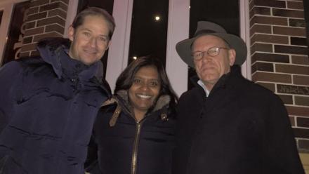 Picture of Rob McWIlliam, Radhika Murti and Peter Kanowski