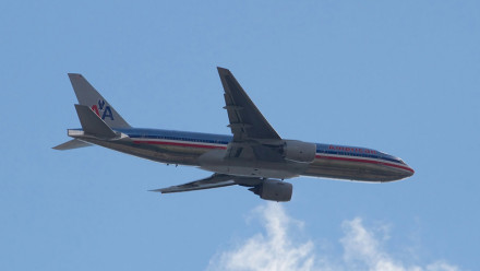 American Airlines Boeing 777. Image: Tony Hisgett, flickr