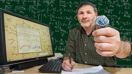 Professor Anatoli Kheifets' theory tackles ultrafast physics. Composite image Stuart Hay, ANU