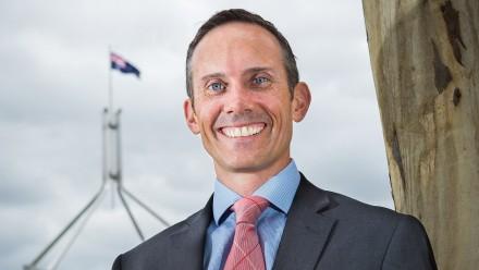 Former ANU academic Dr Andrew Leigh, Member for Fraser.