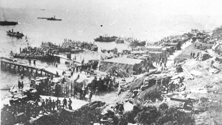 ANZAC Cove. Image courtesy State Library of South Australia on flickr.