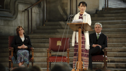 Aung San Suu Kyi. Credit: UK Parliament, Flickr