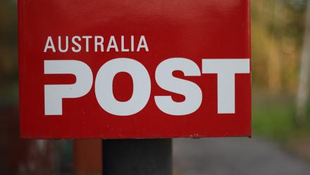 Australia Post letter box. Image by Marko Mikkonen on flickr.