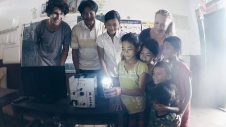 Rebecca Watts in Cambodia