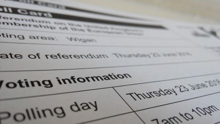 Brexit referendum ballot by Abi Begum on flickr.