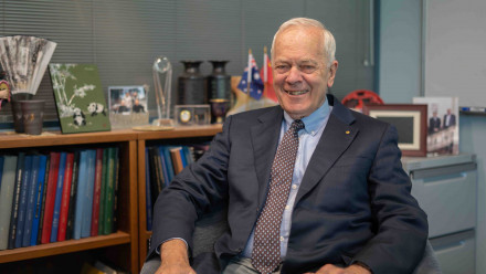 Emeritus Professor Brian Anderson. Image: Yen Eriksen