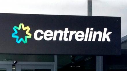 Centrelink sign. Image by David Jackmanson on flickr.