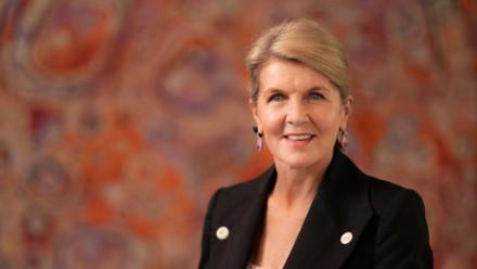 ANU Chancellor The Hon Julie Bishop. Credit: ANU