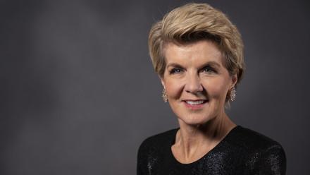The Hon Julie Bishop, Chancellor.