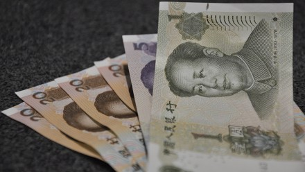 Chinese Yuan by Kat on flickr.
