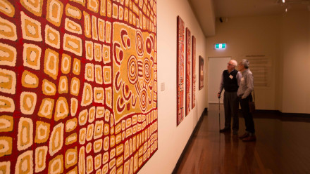 Guest view Indigenous Artwork Gifted to ANU by Philanthropist Craig Edwards